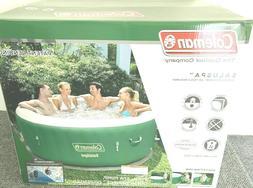 saluspa inflatable hot tub spa pool green