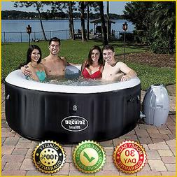 SALUSPA MIAMI INFLATABLE HOT TUB Bestway 4 Person AirJet Spa