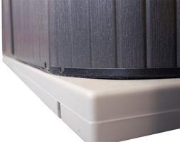 """QCA Spas SP3248 Handi Hot Tub Pad, 32 by 48"""", Black"""