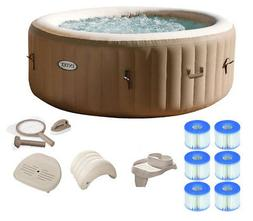 Intex Pure Spa 4-Person Inflatable Portable Hot Tub Ultimate