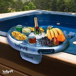 Official 'Perfect Pools' Spa Bar Inflatable Hot Tub Side Tra