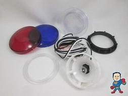 "Spa Hot Tub Light Lense 3 1/4"" Face Replacement Part Lens 2"