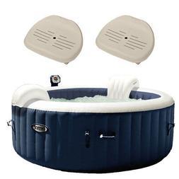 Intex Pure Spa Inflatable 4 Person Hot Tub and Slip Resistan