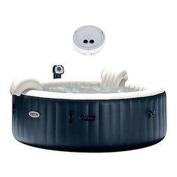 Intex Pure Spa Inflatable 6-Person Bubble Hot Tub + PureSpa