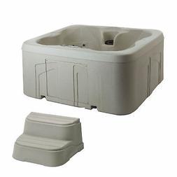 Lifesmart Spas Simplicity 4-Person Plug & Play Hot Tub Spa w