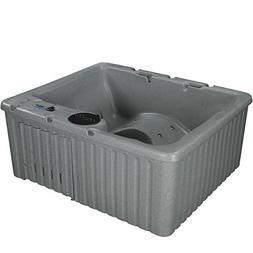 Essential Hot Tubs SS125210400 Newport 14 Grey Granite Outdo