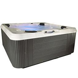 Essential Hot Tubs SS2140507403 Polara-50 Jet Hot Tub, Gray