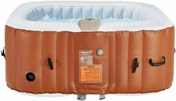 U-MAX Inflatable Hot Tub, Heater and Bubble Function SPA, Sq