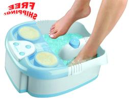 Waterfall Foot Bath with Lights, Bubbles and Heat