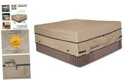 Waterproof 600D Polyester Square Hot Tub Cover Outdoor SPA C